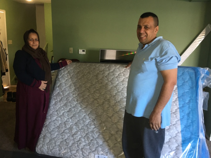 Partnership with 'Sweet Dreams Project' of St. John's Episcopal Church to help Refugees get Mattresses