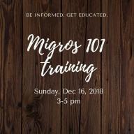 Migros 101 training