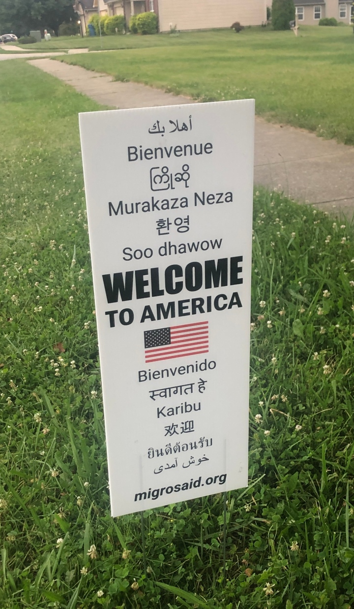 5 Reasons to Get Our New 'Welcome To America' Yard Sign that is in 12 languages