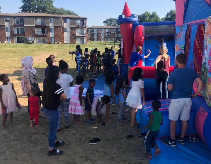 Our Second 'Back to School Party' Brought out many in theCommunity