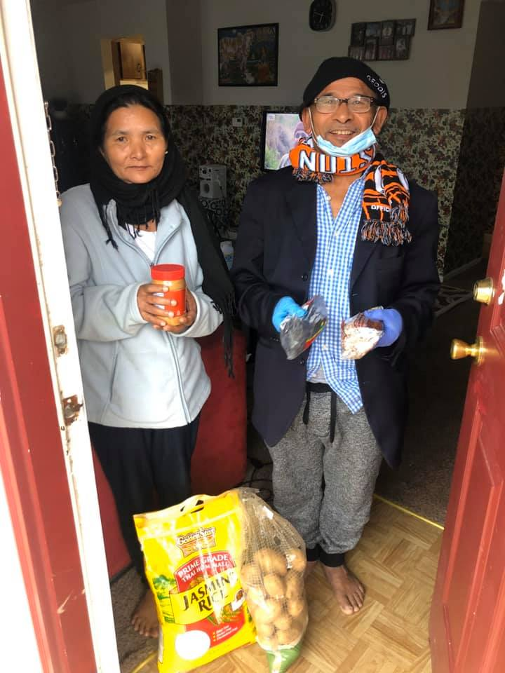 Helping Meet Food Shortage Among the Refugee and ImmigrantCommunity