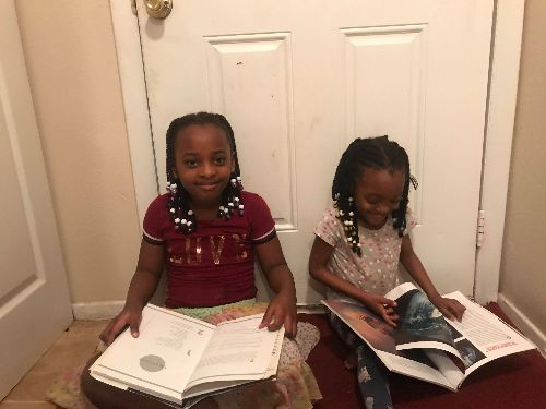 Encouraging Education During Quarantine:   Distributing Children's Books and Helping with OnlineLearning