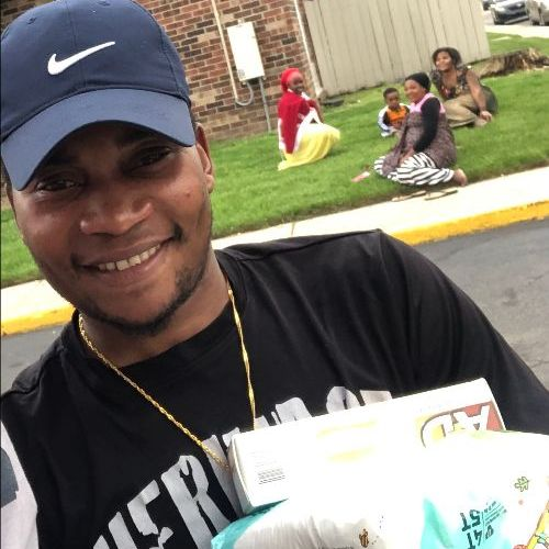 Diapers provided to theCommunity