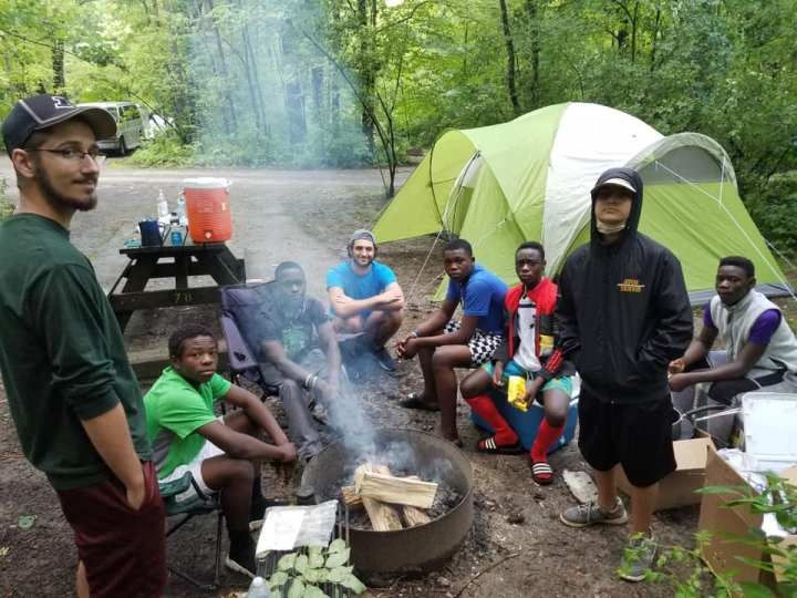 Summer Camping Trips for Young Refugees