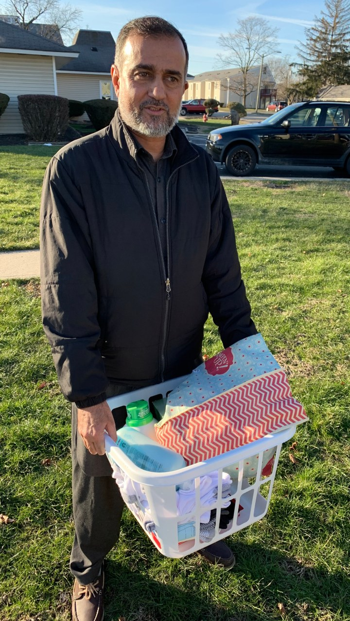Eagle church of Whitestown helps provide 60+ Gift Baskets to refugee families overchristmas