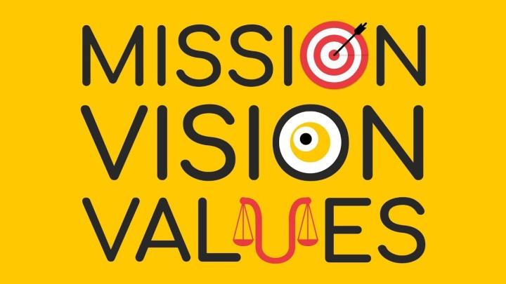 Updated Mission and Vision Statements and Core Values