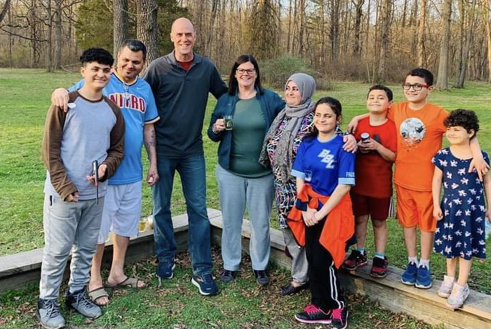A Migration and Mentoring Story:  Mohamad and Nisreen from Syria befriended by Tom and Wendy of Zionsville
