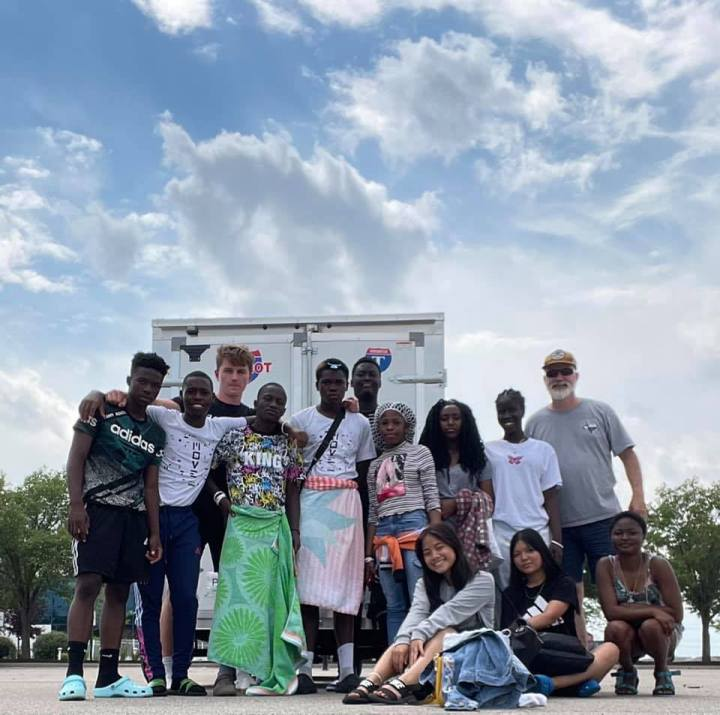 12 Students Experience a Summer Camp inMichigan
